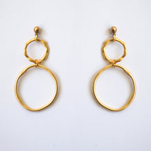 PUDDLE EARRINGS [ GOLD PLATED ]