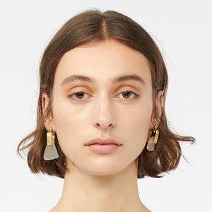 REFRACTION EARRINGS [ FROSTED  ]