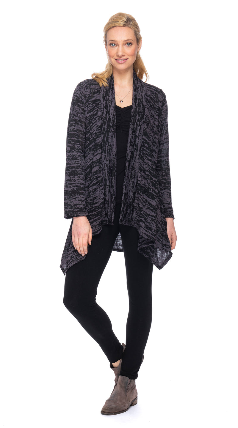 Burnout Iris Jacket - black cloud