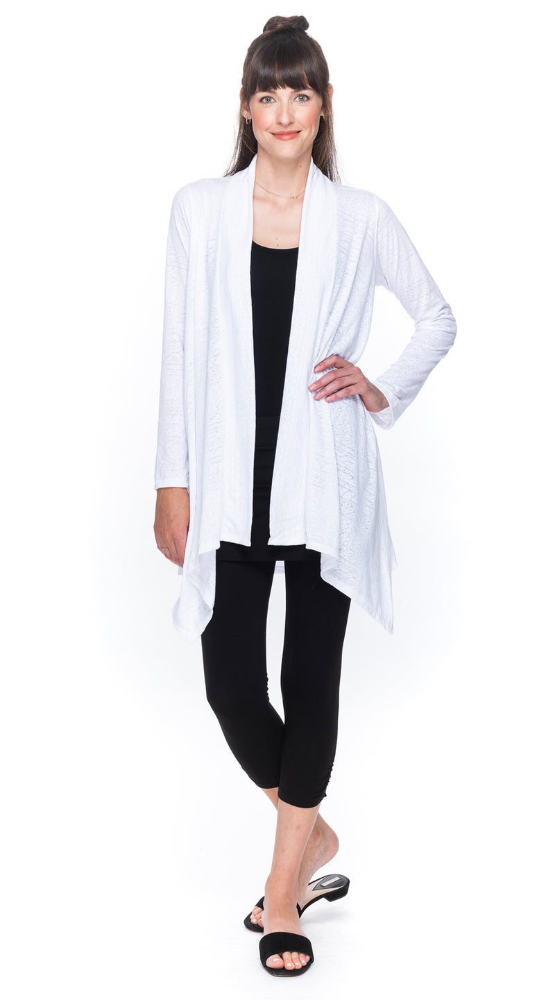 Burnout Iris Jacket - white lines