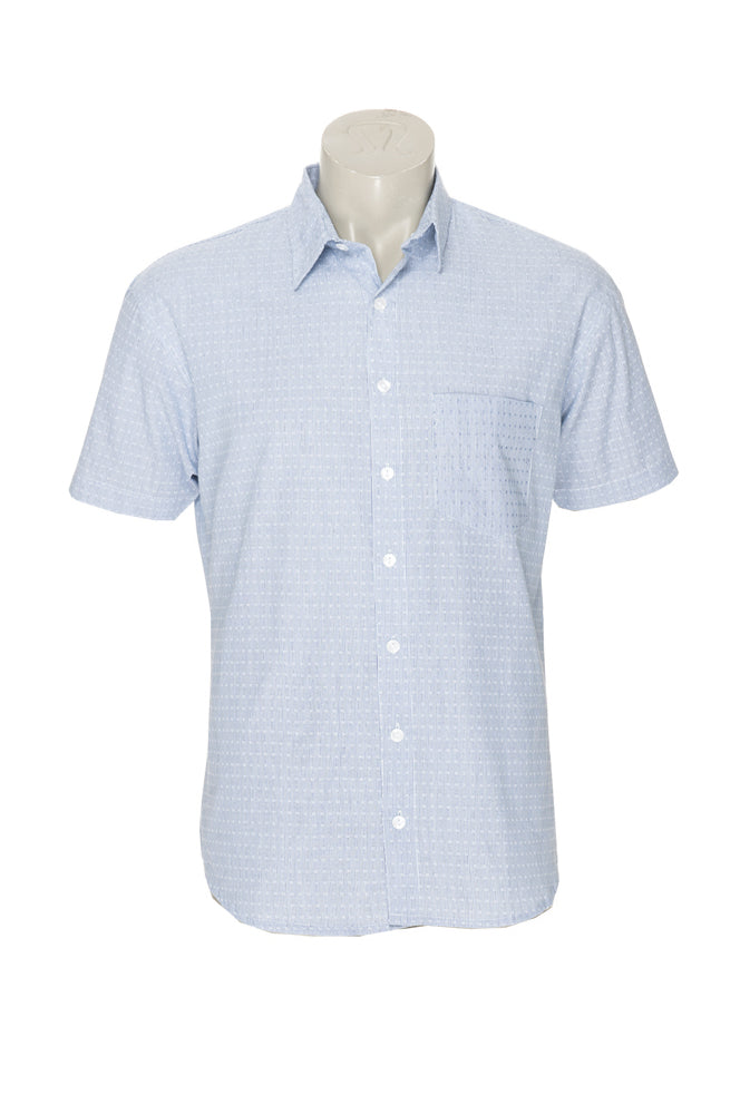 Men's Camino Shirt - soft blue - cotton