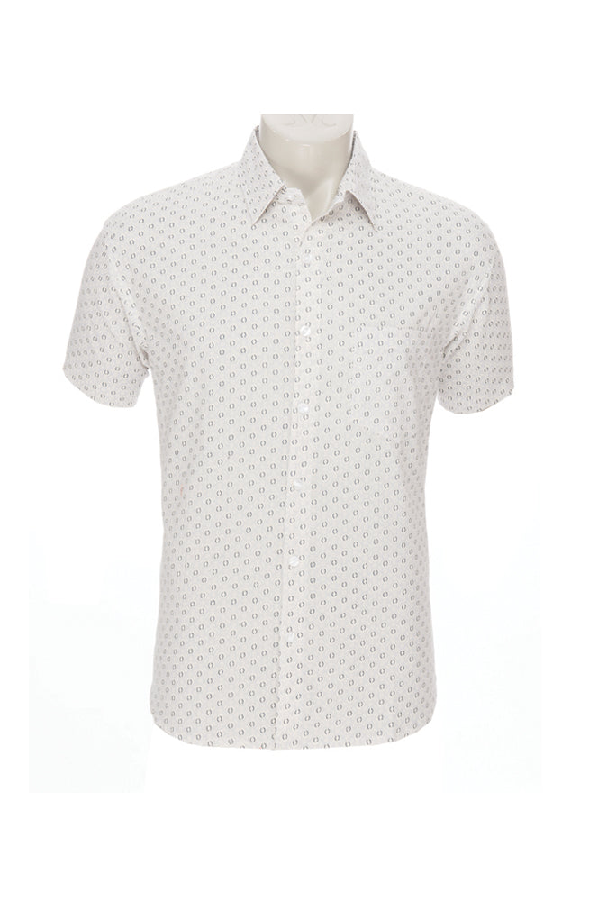Men's Camino Shirt - cream - cotton