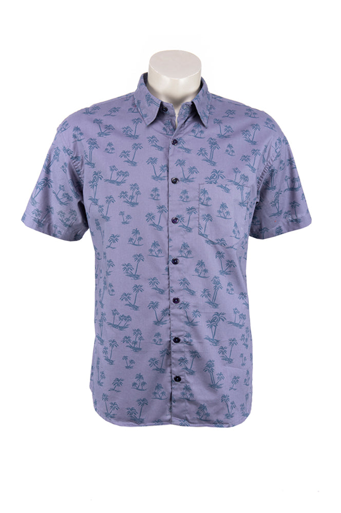 Men's Camino Shirt - palm tree - cotton