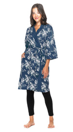 Organic Cotton Bathrobe - 5 PRINTS!!