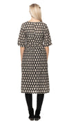 Meera Dress - blockprint - organic cotton