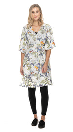 Kimmi Wrap Dress - white