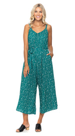 Marley Jumpsuit - green dots