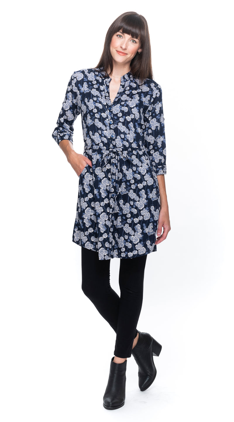 Angela Tunic - navy