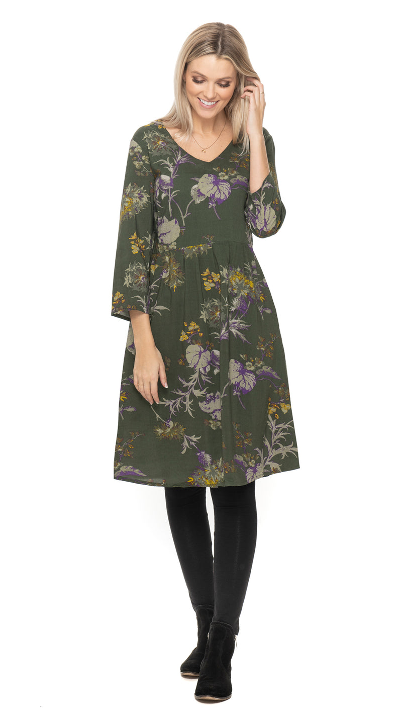Kelly Dress - olive