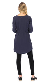Alana Tunic - twilight - organic cotton
