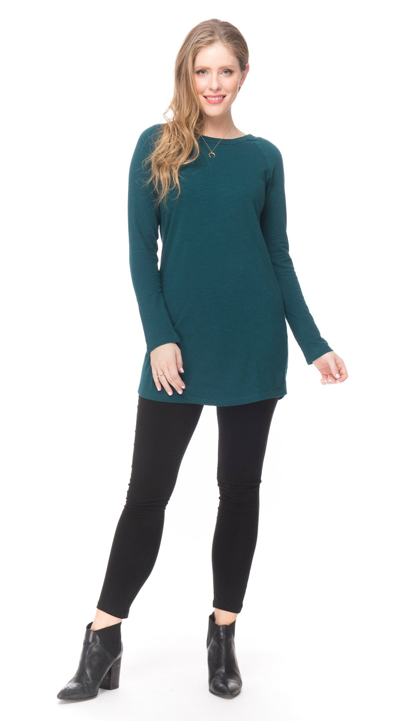 Seva Tunic - peacock - organic cotton