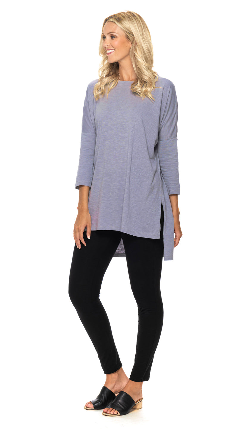 Lana Tunic-mist-organic cotton blend