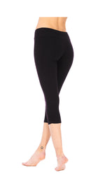 Capri Leggings - black - organic cotton