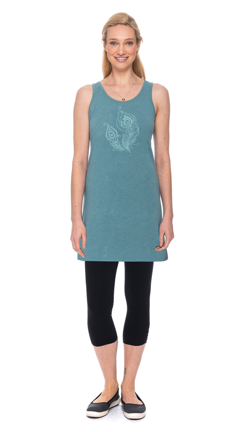 Satya Tunic - agave feather - org.cotton