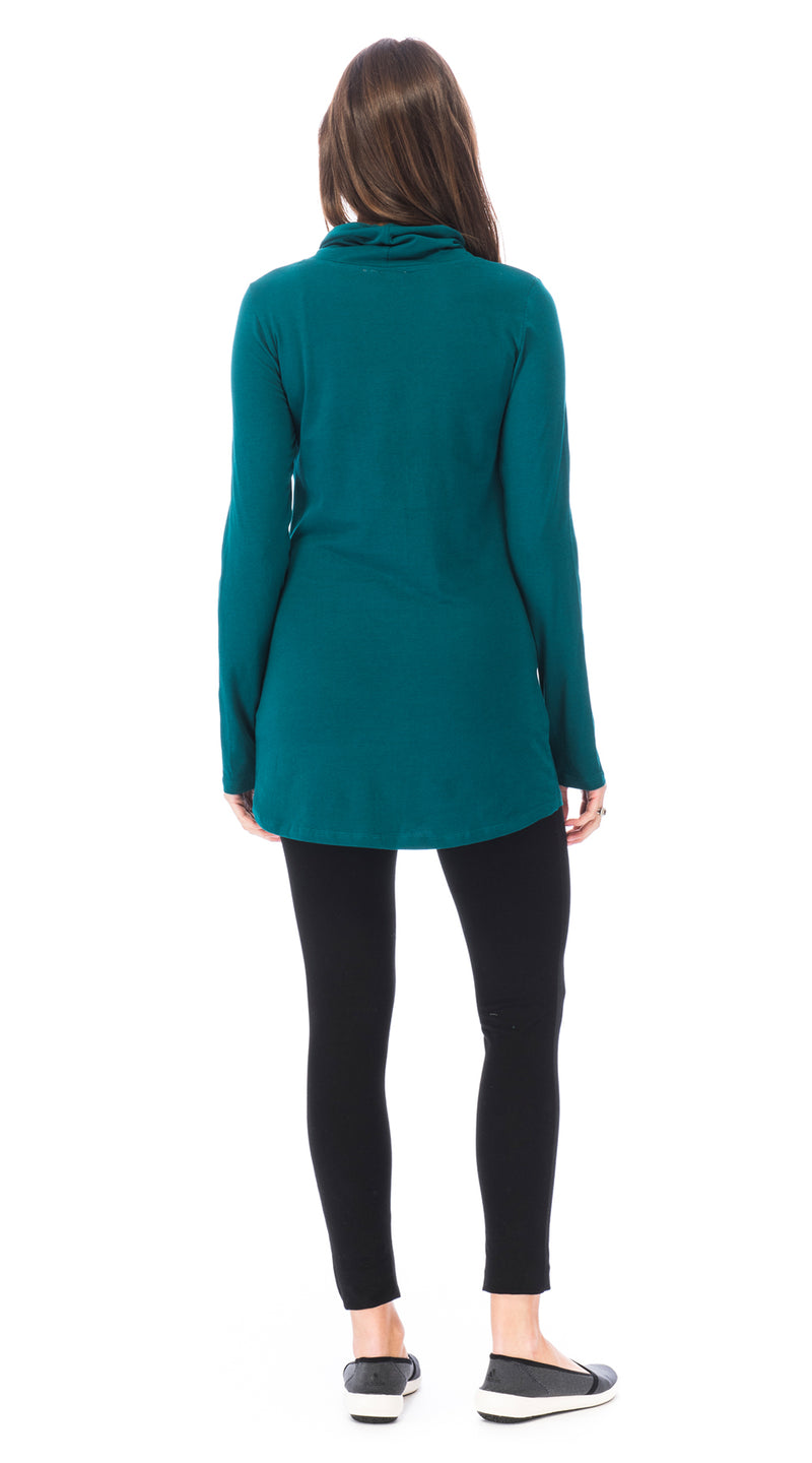 Bliss Tunic - peacock - organic cotton