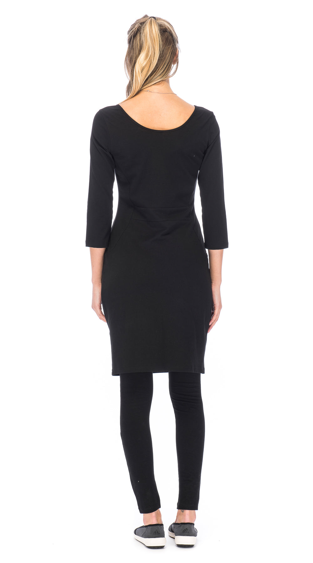Matrix Dress - black - organic cotton