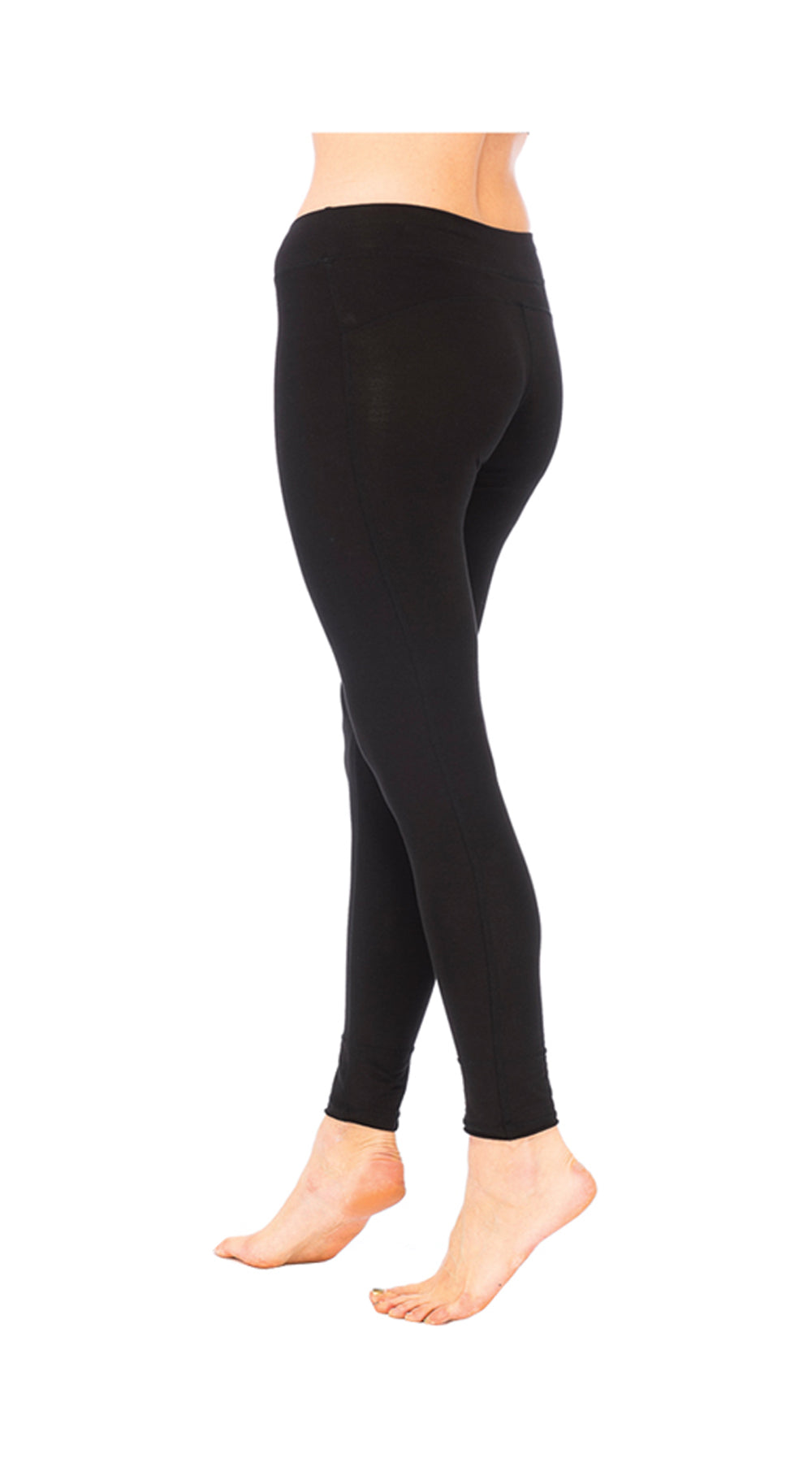 Leggings - black - organic cotton
