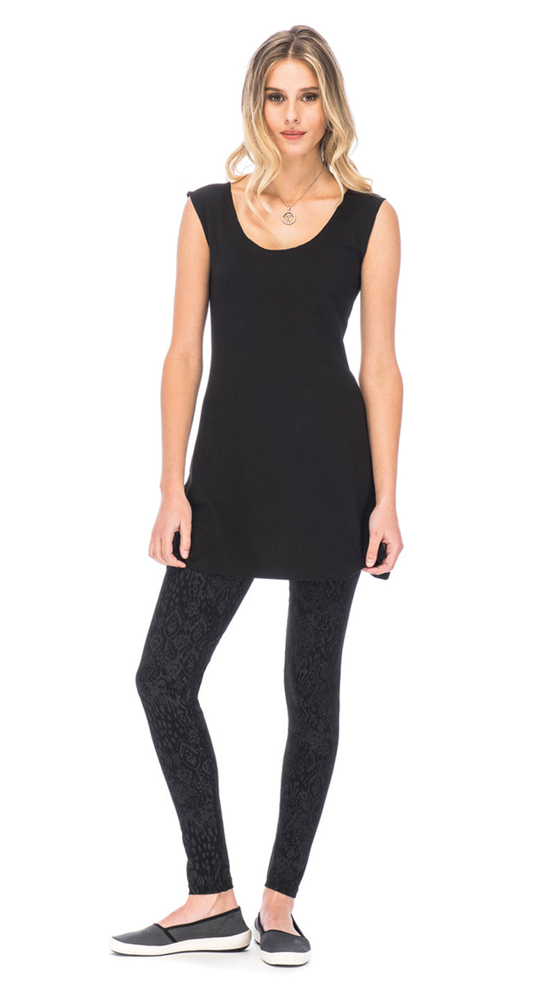 Beau Tunic - black - organic cotton