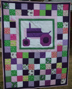 Tractor Girl Quilt