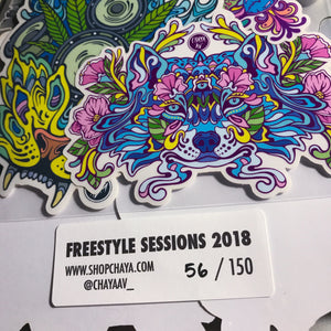 FREESTYLE SESSIONS STICKER PACK (LE 150)