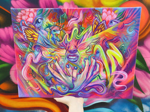 FLOW IS FEROCIOUS (LE 10 CANVAS PRINTS)