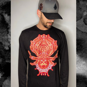 FREAKSPIDEY LONG SLEEVE SILKSCREEN T-SHIRT