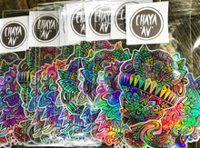 HOLOGRAPHIC STICKER PACK (LE 150)