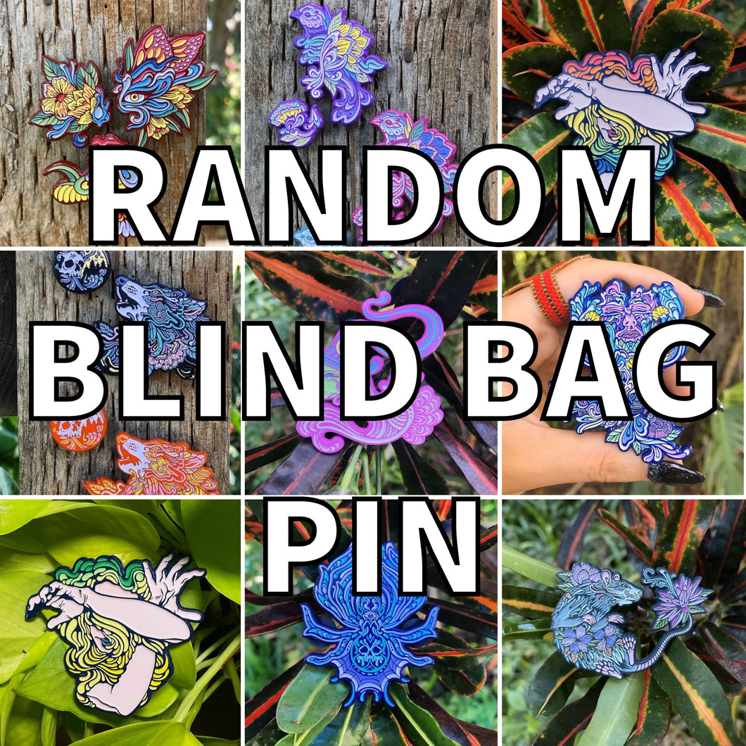 RANDOM BLIND BAG PIN