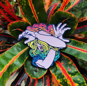 WALLFLOWER PINS (RAINBOW)
