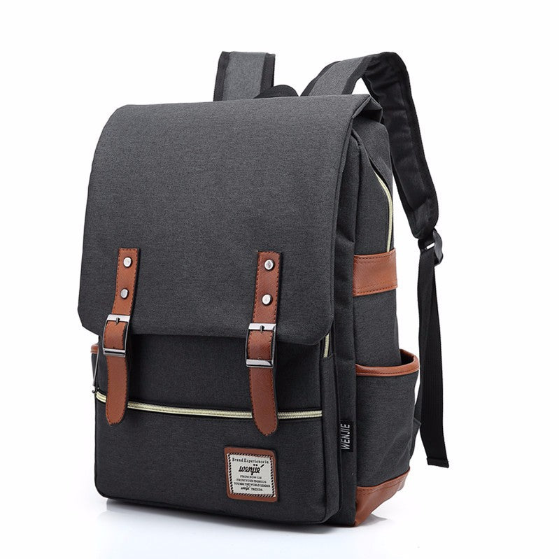 Casual Vintage Canvas Travel Laptop Backpack