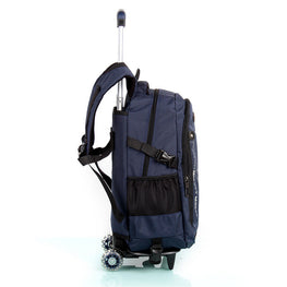 Rolling Backpack with 3/2 Removable Wheels for Children