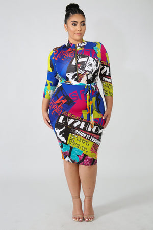 Dress - Front Page Magazine Maxi