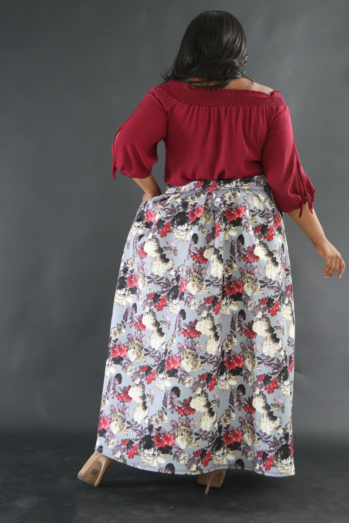 Skirt - Floral Fall