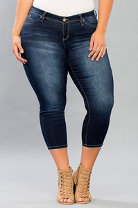 Jean -Capri (Wide Fit)