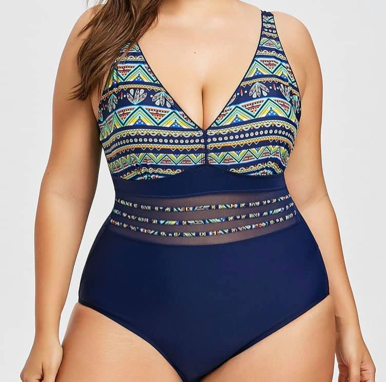 Swimwear -  Tribal (Please see measurements below)