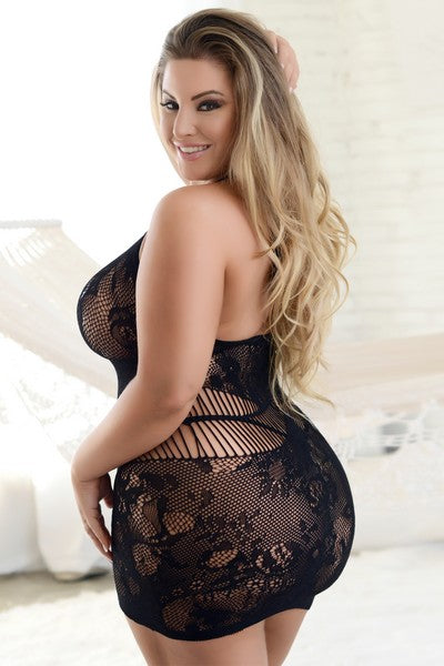 Lingerie - Just Too Sexy Body Stocking- Queen Size -5