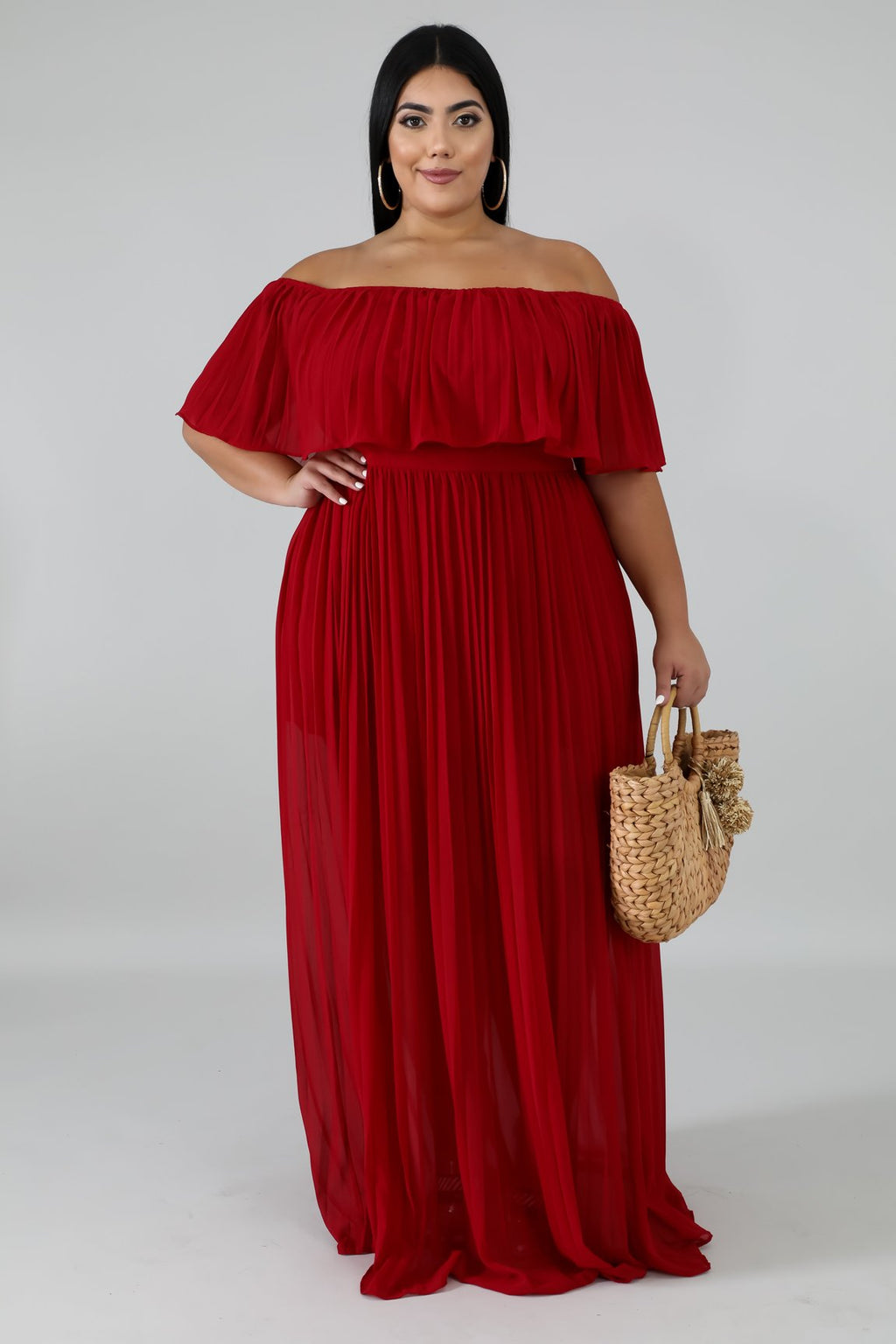 Dress - Ripples (Red)