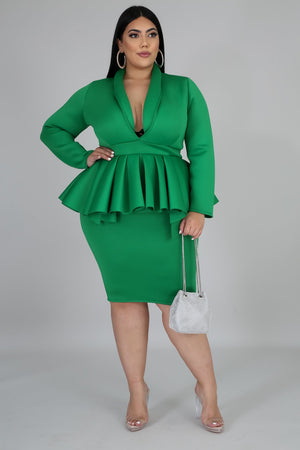 Dress - Poise (Green)