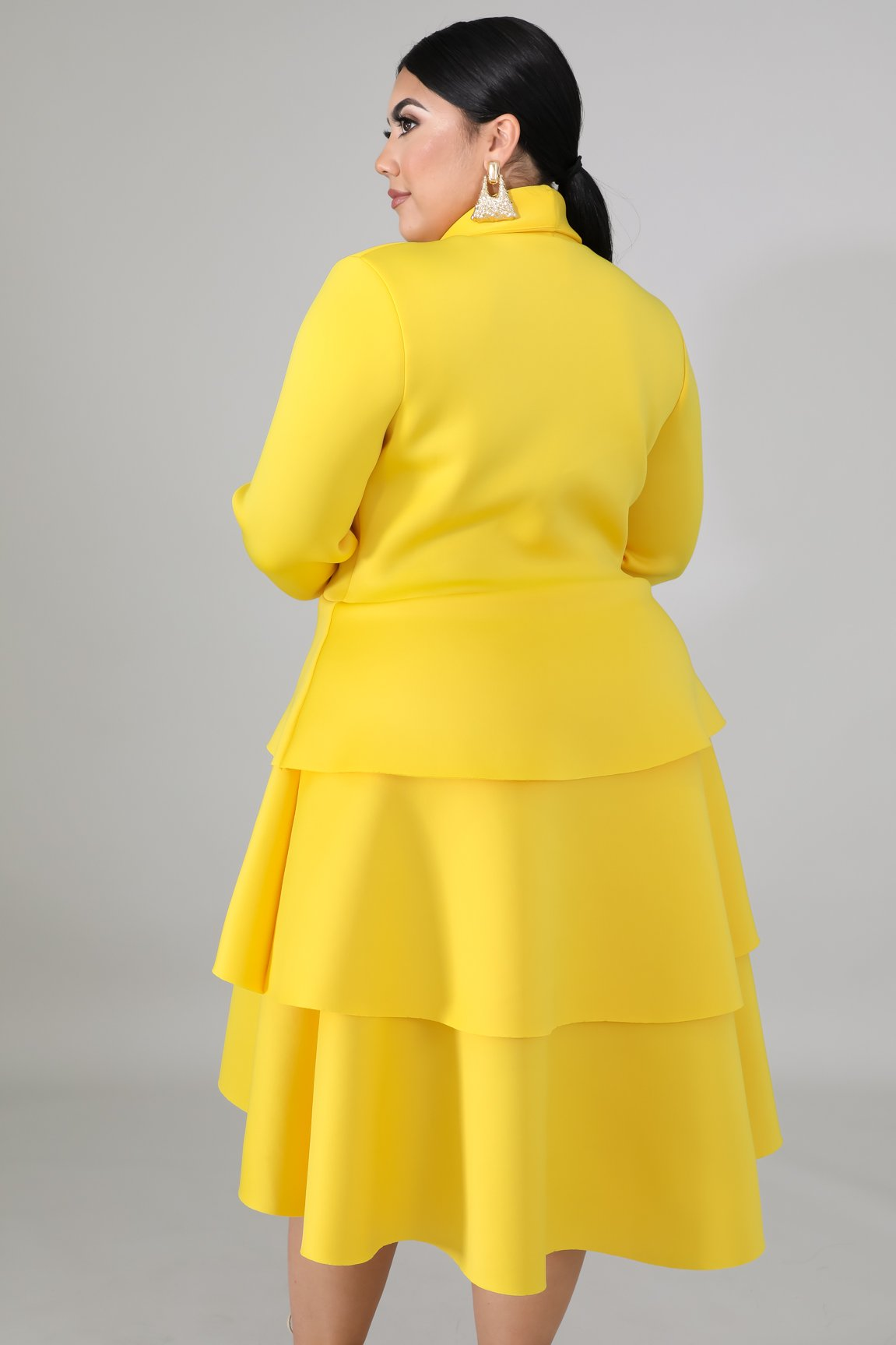 Dress - Tulips (Yellow)