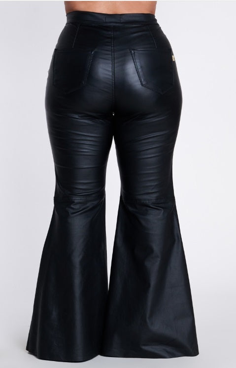 Pants Leatherette -Night on the town