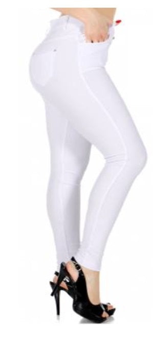 Jeans - Jeggings White