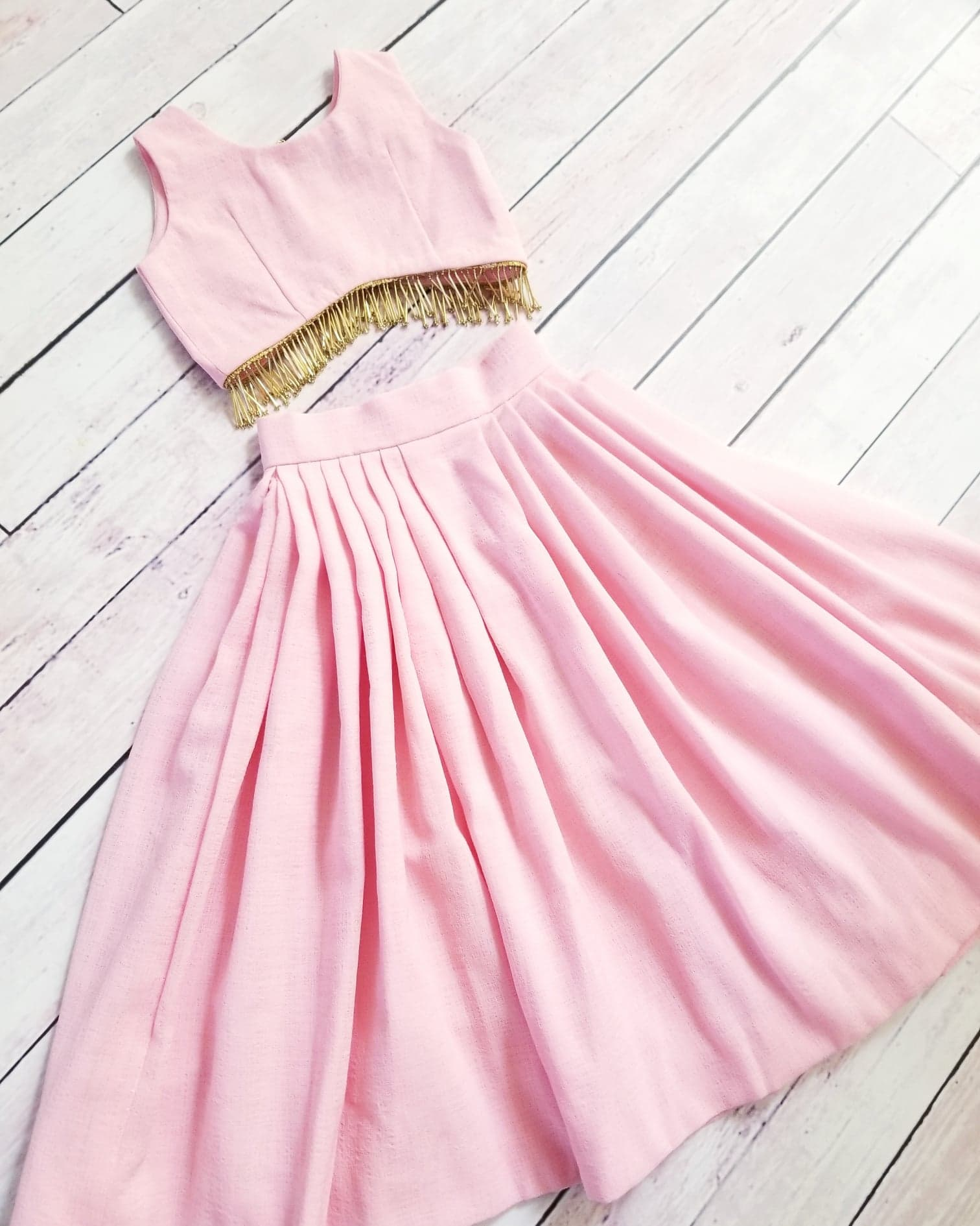 Sweetheart Cotton Candy Skirt & Top