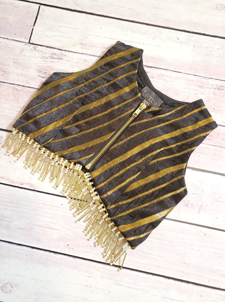 Gold Stream Top