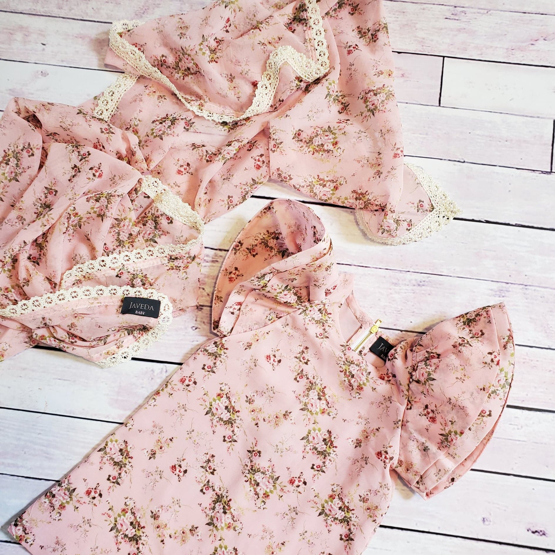 Secret Garden Angel Dress - Pink