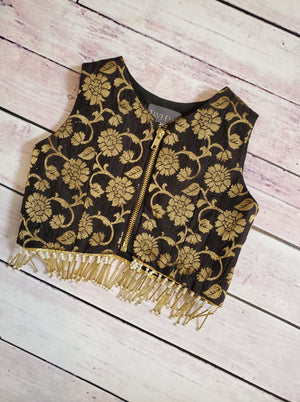 Black Gold Flora Top