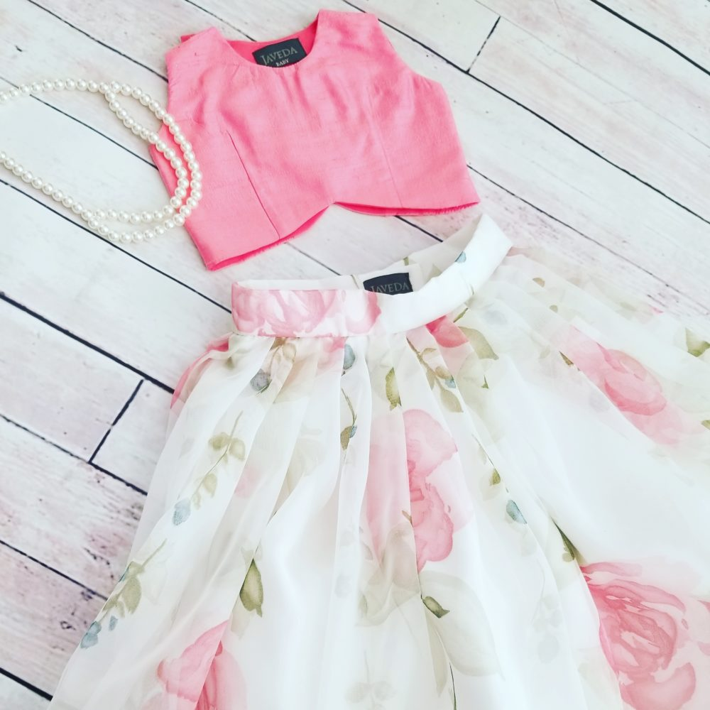 Willow Pink Rose Skirt