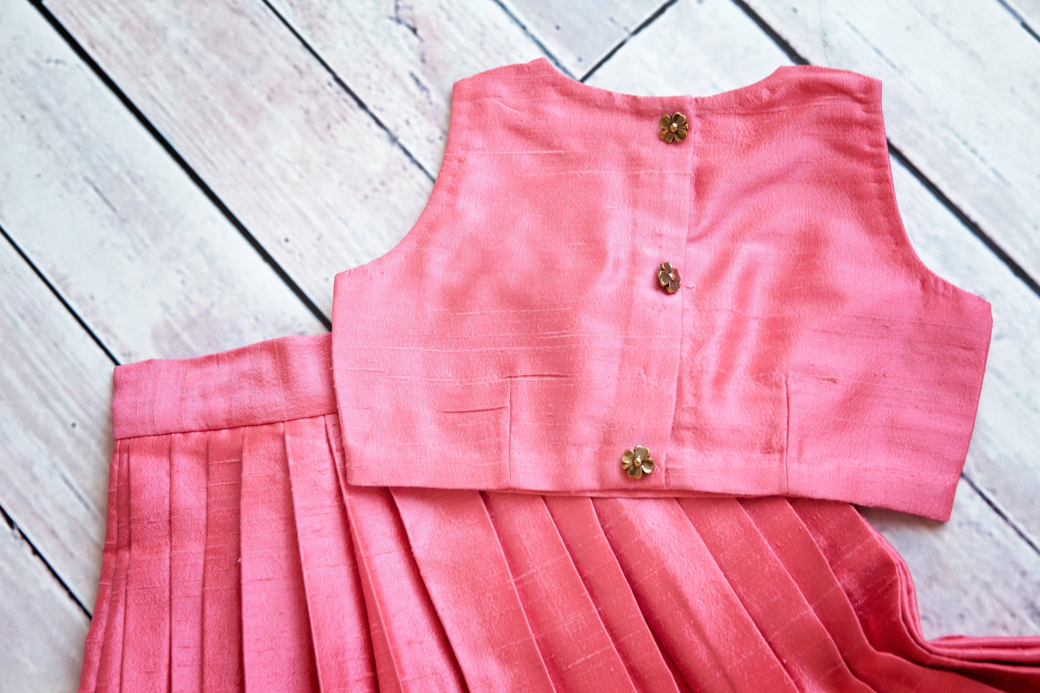 Melody Cotton Candy Pink Skirt&Top