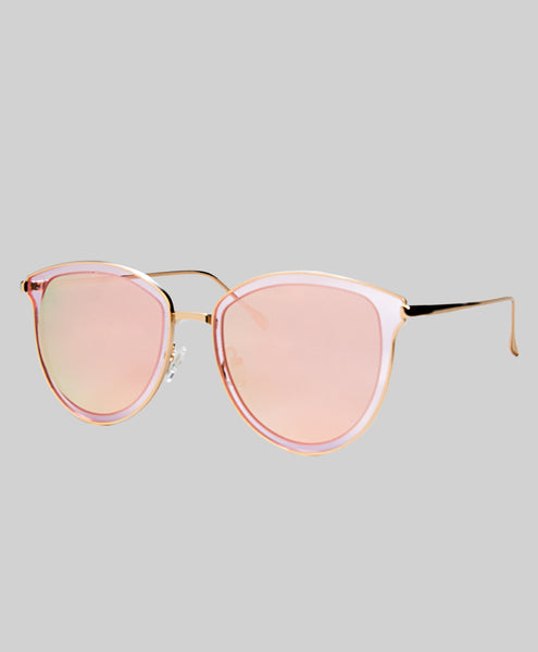Peach Wayfer Sunglasses