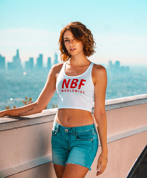 NBF Worldwide Crop (White)