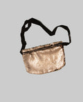 Sequin Iridescent Fanny Pack (Gold/White)
